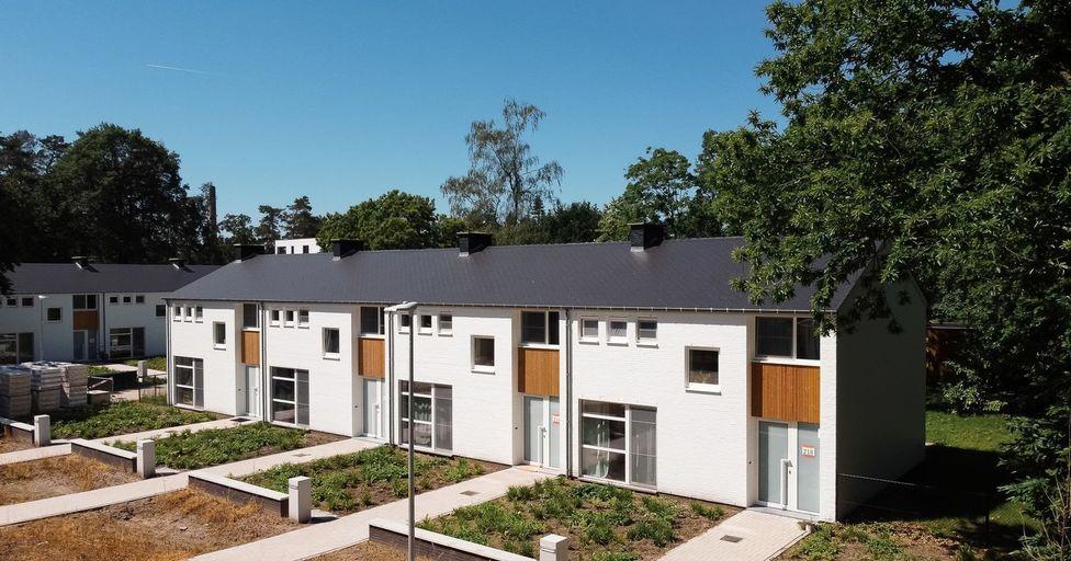 Residentiewijk Rijwoningen